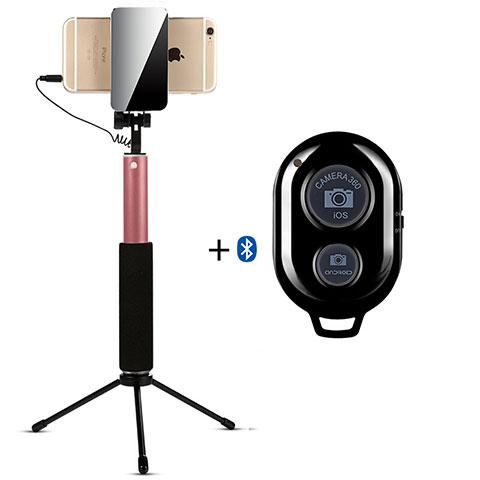 Palo Selfie Stick Bluetooth Disparador Remoto Extensible Universal S15 Oro