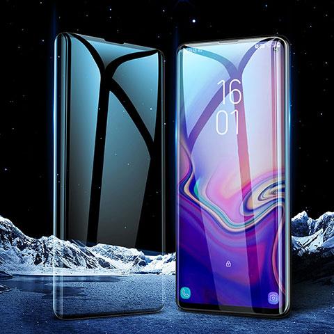 Protector de Pantalla Cristal Templado Integral para Samsung Galaxy S10 Negro
