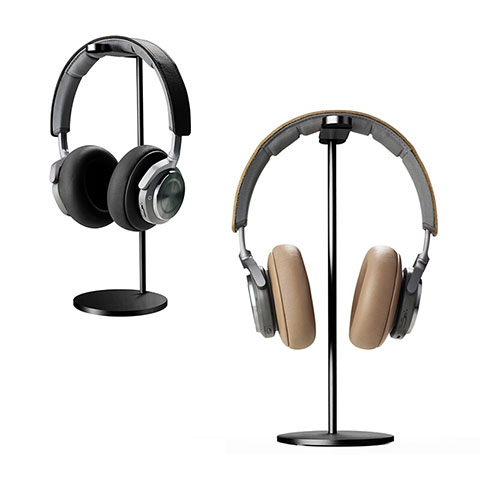 Soporte Universal de Auriculares Cascos H01 Negro