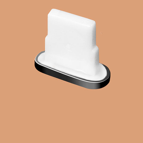 Tapon Antipolvo Lightning USB Jack J07 para Apple iPhone 11 Pro Negro
