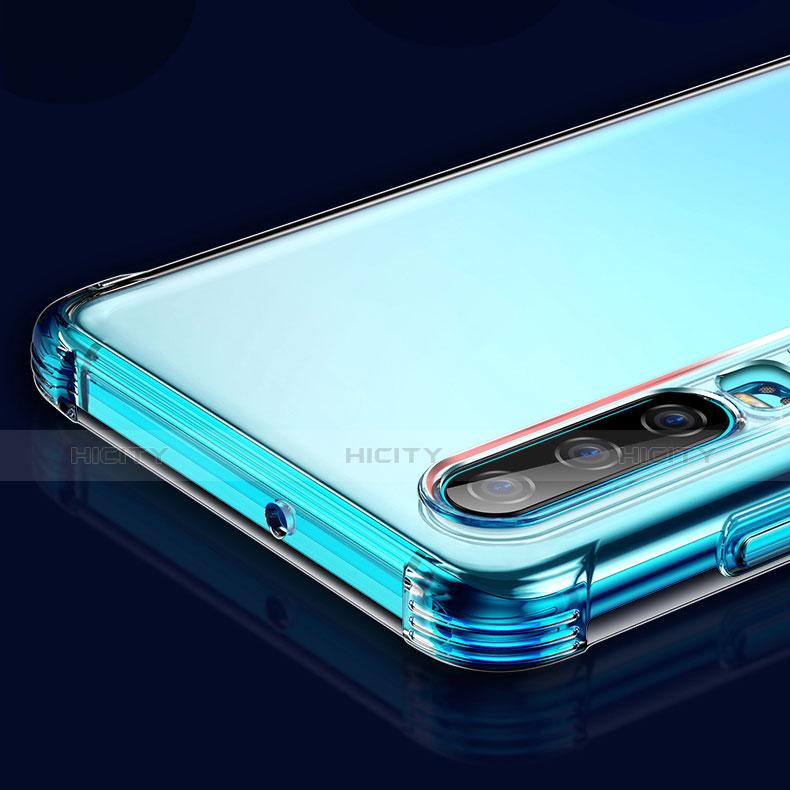 Carcasa Silicona Ultrafina Transparente T05 para Huawei P30 Claro