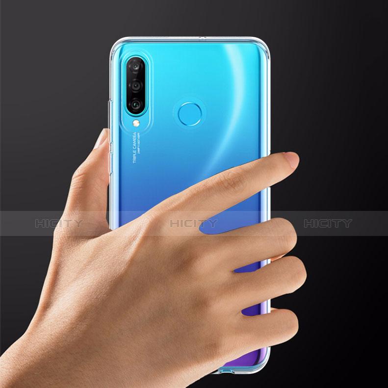 Carcasa Silicona Ultrafina Transparente T05 para Huawei P30 Lite Claro