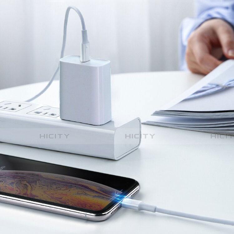 Cargador Cable USB Carga y Datos C02 para Apple iPhone 11 Blanco