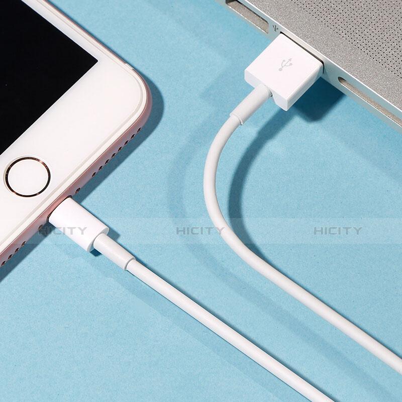 Cargador Cable USB Carga y Datos L09 para Apple iPhone 11 Blanco