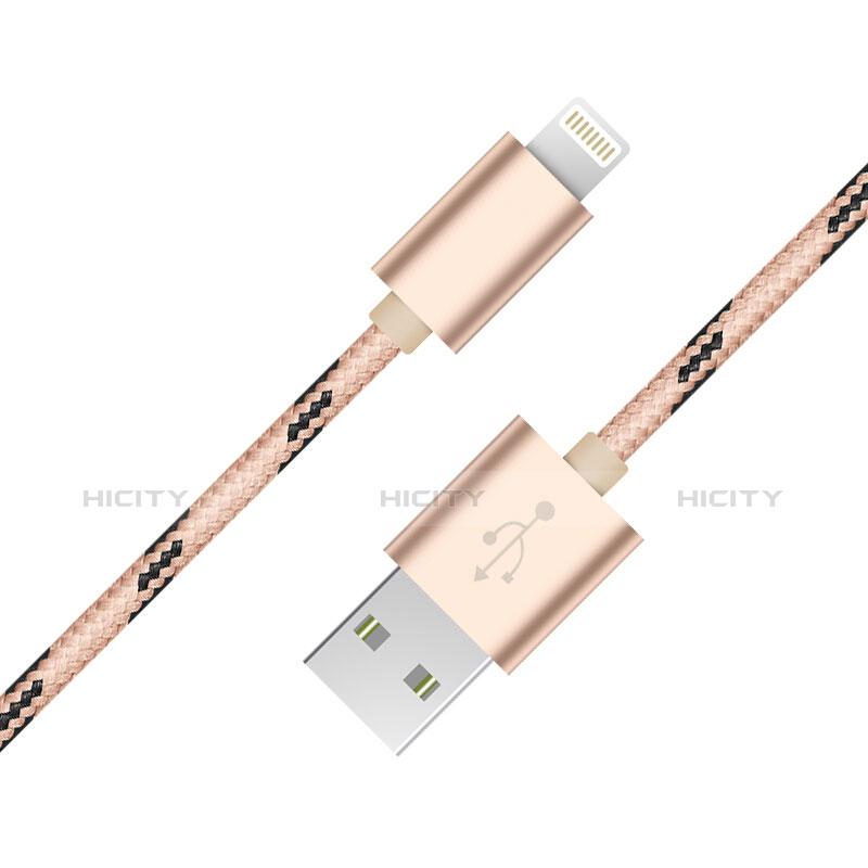 Cargador Cable USB Carga y Datos L10 para Apple iPhone 11 Oro