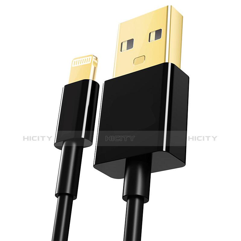 Cargador Cable USB Carga y Datos L12 para Apple iPhone 11 Negro