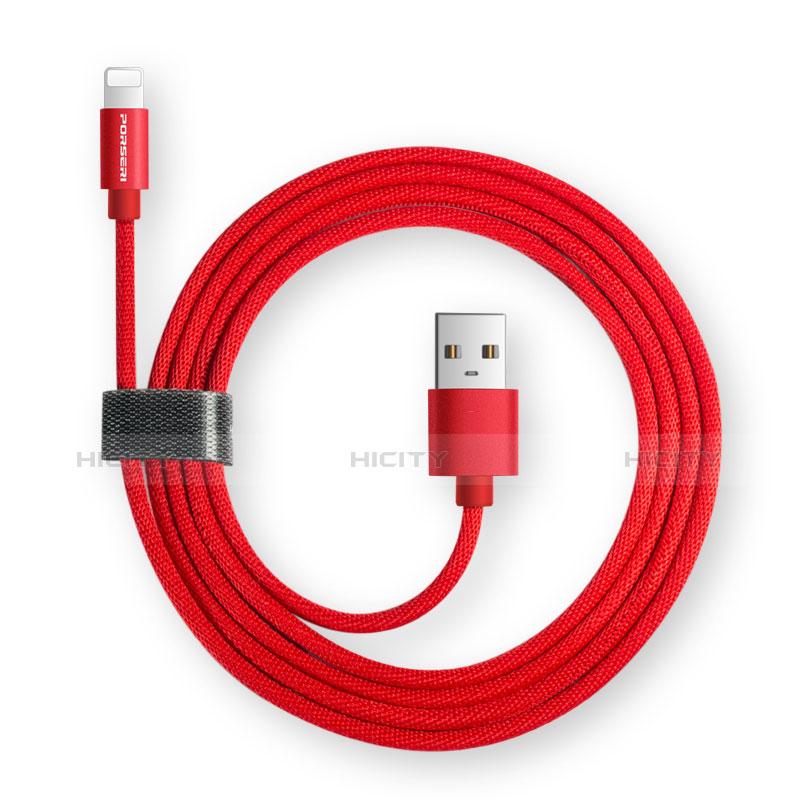 Cargador Cable USB Carga y Datos L14 para Apple iPhone 11 Pro Negro