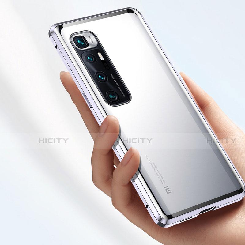 Funda Bumper Lujo Marco de Aluminio Espejo 360 Grados Carcasa M01 para Xiaomi Mi 10 Ultra