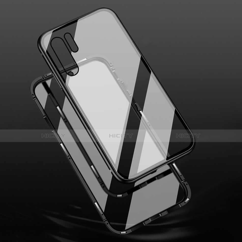 Funda Bumper Lujo Marco de Aluminio Espejo Carcasa M02 para Huawei P30 Pro