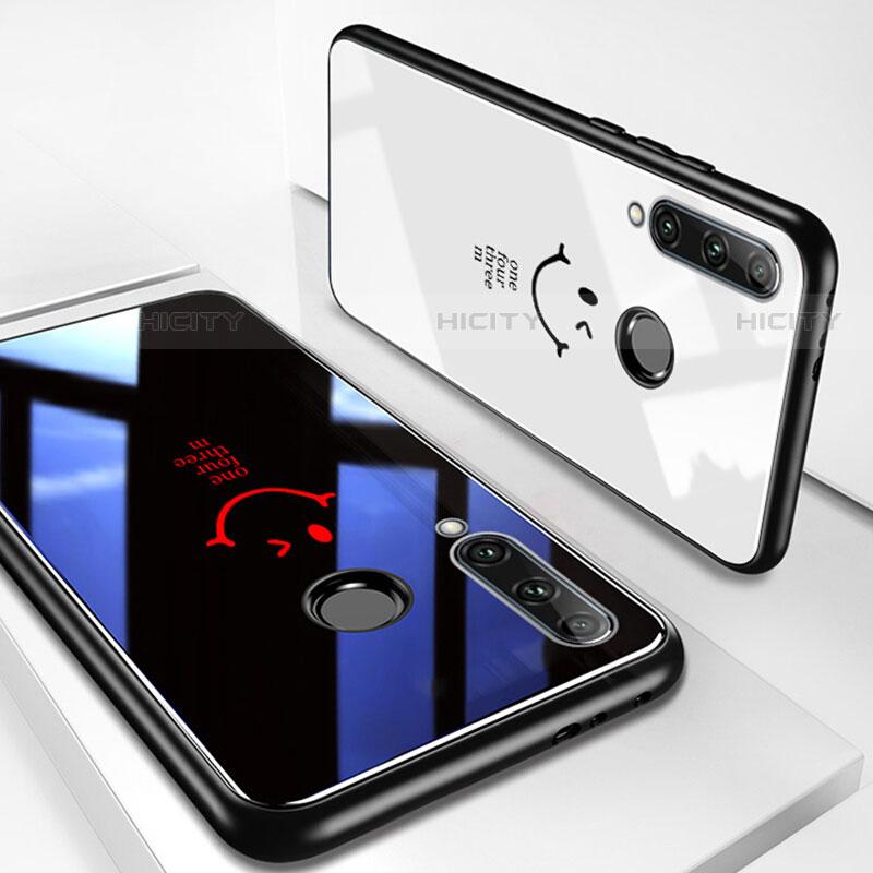 Funda Bumper Silicona Gel Espejo Patron de Moda Carcasa para Huawei Honor 20 Lite