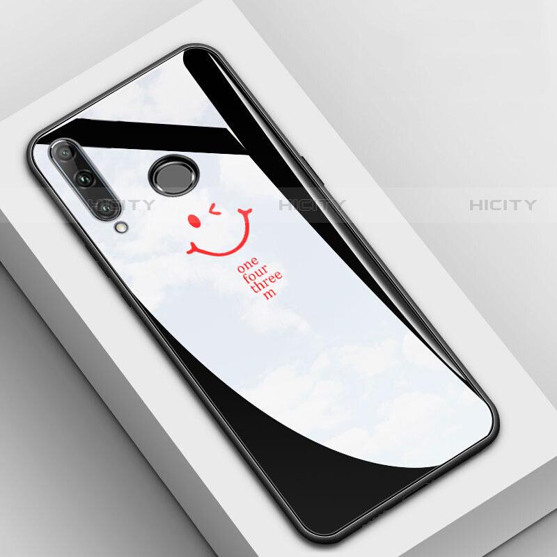Funda Bumper Silicona Gel Espejo Patron de Moda Carcasa para Huawei Honor 20 Lite Negro