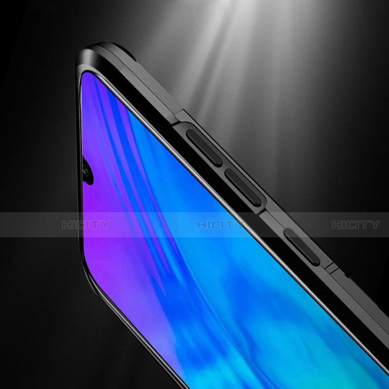 Funda Bumper Silicona y Plastico Mate Carcasa con Magnetico Soporte para Huawei Honor 20 Lite
