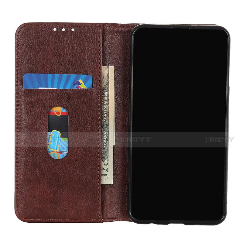 Funda de Cuero Cartera con Soporte Carcasa L01 para Motorola Moto G9 Plus