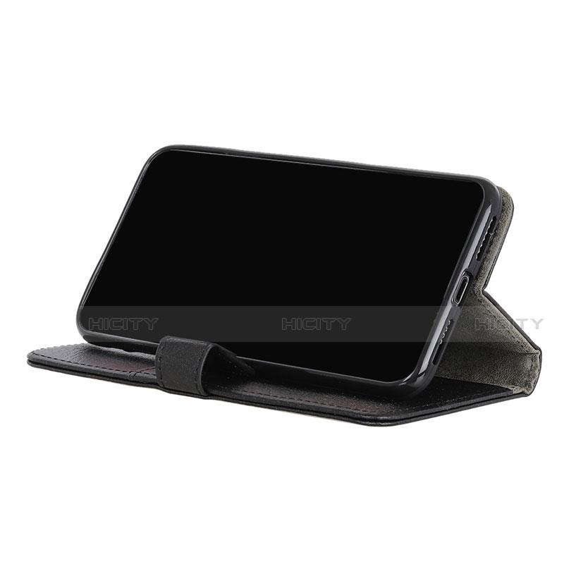 Funda de Cuero Cartera con Soporte Carcasa L03 para Motorola Moto G9 Plus