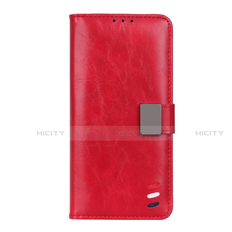 Funda de Cuero Cartera con Soporte Carcasa L04 para Motorola Moto G9 Plus