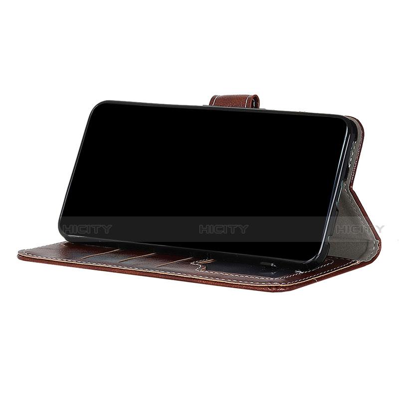 Funda de Cuero Cartera con Soporte Carcasa L07 para Motorola Moto G9 Plus