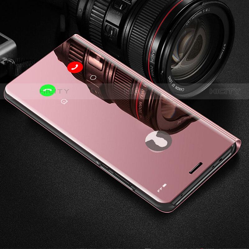 Funda de Cuero Cartera con Soporte Espejo Carcasa para Samsung Galaxy Note 10 Plus 5G