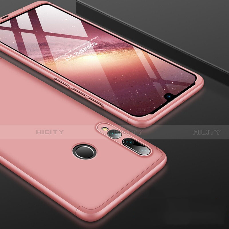 Funda Dura Plastico Rigida Carcasa Mate Frontal y Trasera 360 Grados para Huawei Honor 20 Lite Oro Rosa