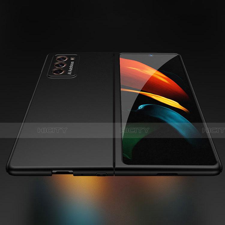 Funda Dura Plastico Rigida Carcasa Mate Frontal y Trasera 360 Grados para Samsung Galaxy Z Fold2 5G