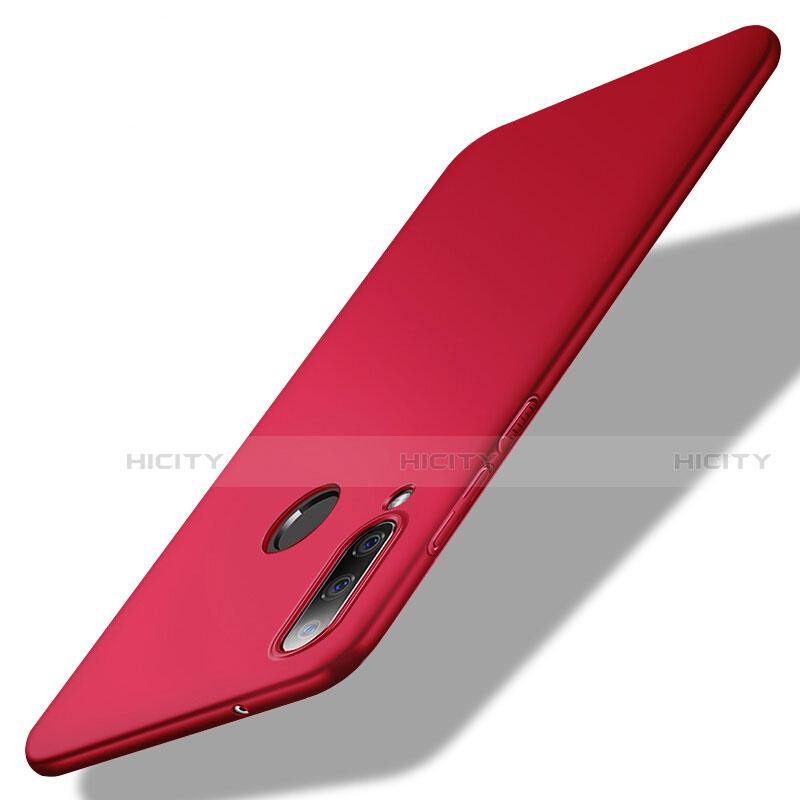 Funda Dura Plastico Rigida Carcasa Mate M02 para Huawei Honor 20 Lite Rojo