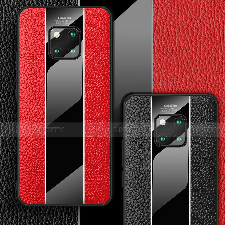 Funda Lujo Cuero Carcasa S01 para Huawei Mate 20 Pro
