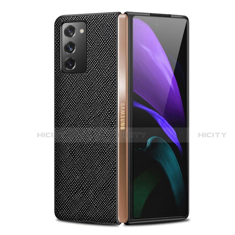 Funda Lujo Cuero Carcasa S01 para Samsung Galaxy Z Fold2 5G