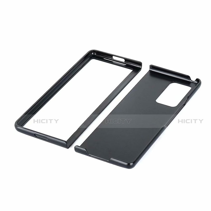 Funda Lujo Cuero Carcasa S02 para Samsung Galaxy Z Fold2 5G