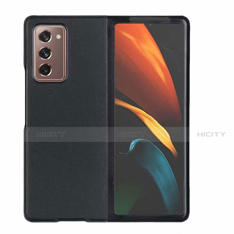 Funda Lujo Cuero Carcasa S03 para Samsung Galaxy Z Fold2 5G