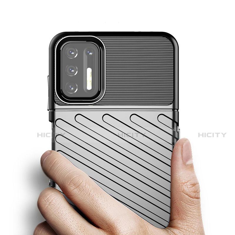 Funda Silicona Carcasa Goma Line para Motorola Moto G9 Plus