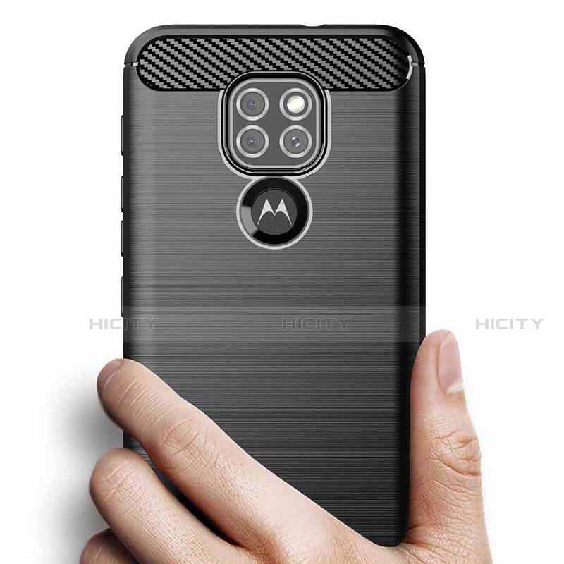 Funda Silicona Carcasa Goma Line S01 para Motorola Moto G9 Play