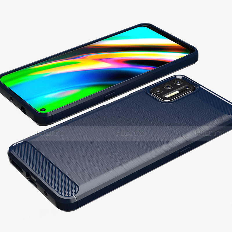 Funda Silicona Carcasa Goma Line S01 para Motorola Moto G9 Plus