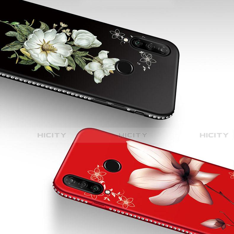 Funda Silicona Gel Goma Flores Carcasa para Huawei Honor 20 Lite