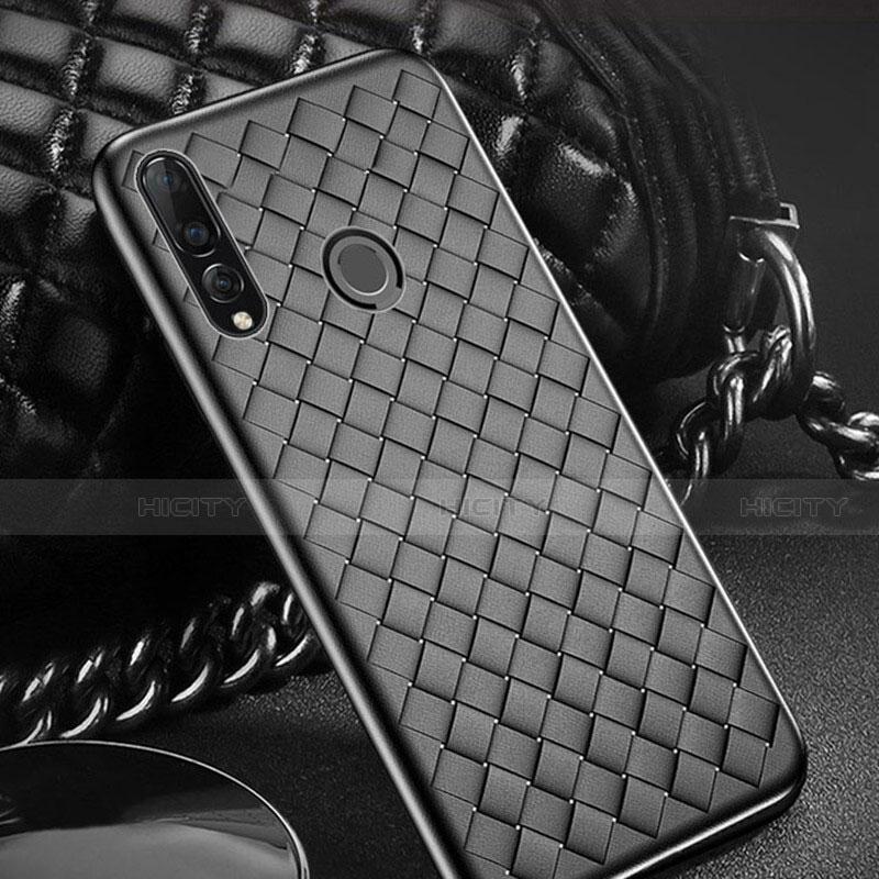 Funda Silicona Goma de Cuero Carcasa A01 para Huawei Honor 20 Lite