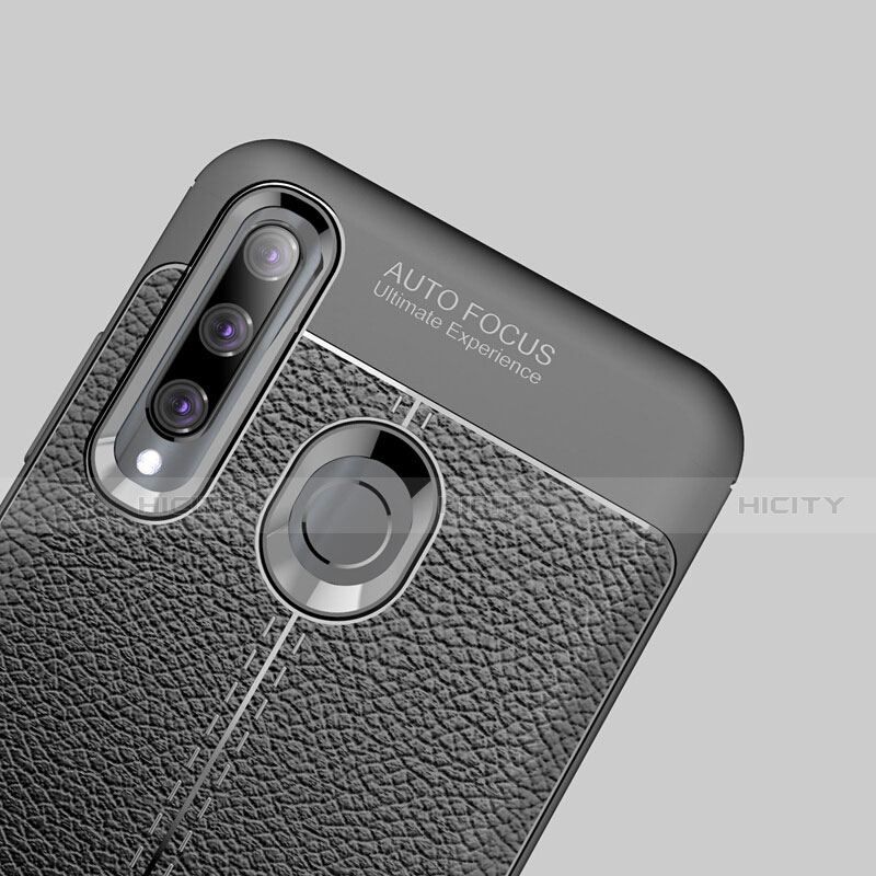 Funda Silicona Goma de Cuero Carcasa S01 para Huawei Honor 20 Lite