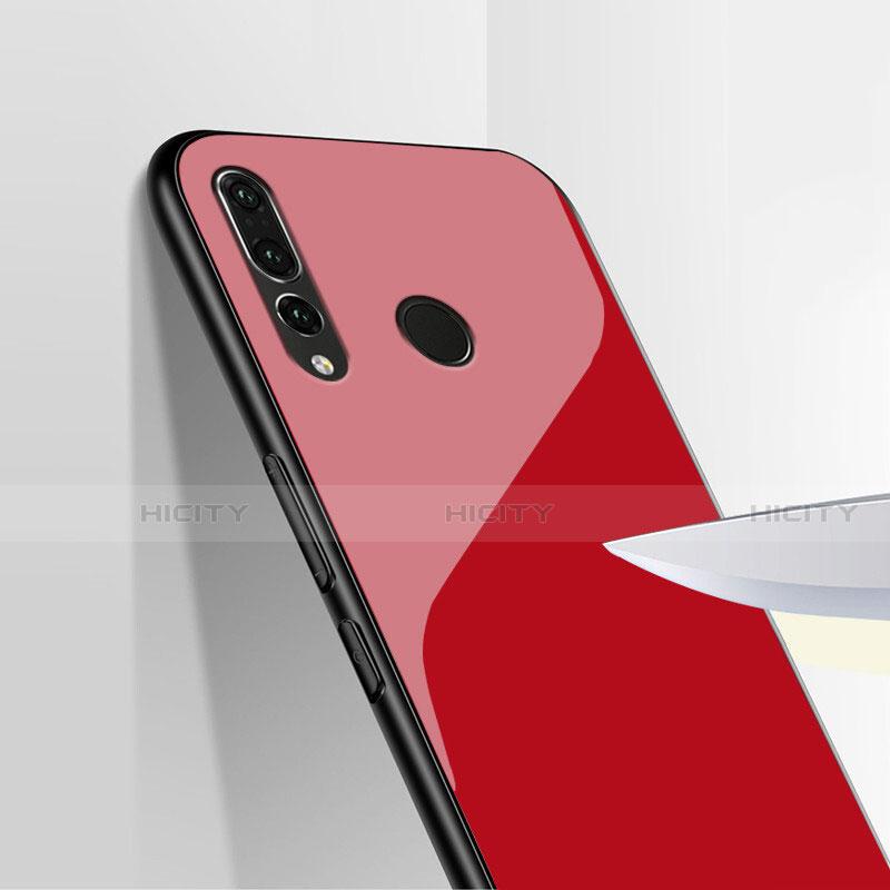 Funda Silicona Goma Espejo para Huawei Honor 20 Lite Rojo