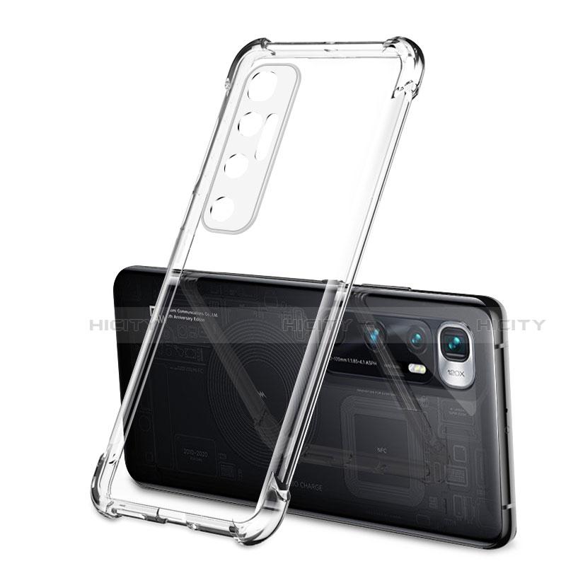 Funda Silicona Ultrafina Carcasa Transparente H01 para Xiaomi Mi 10 Ultra Claro