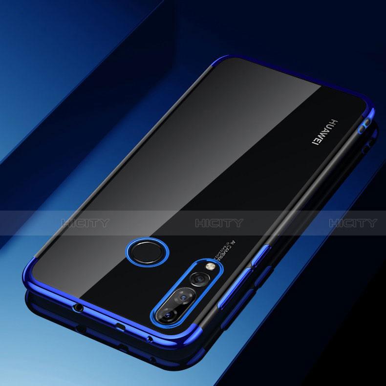 Funda Silicona Ultrafina Carcasa Transparente H03 para Huawei Honor 20 Lite Azul