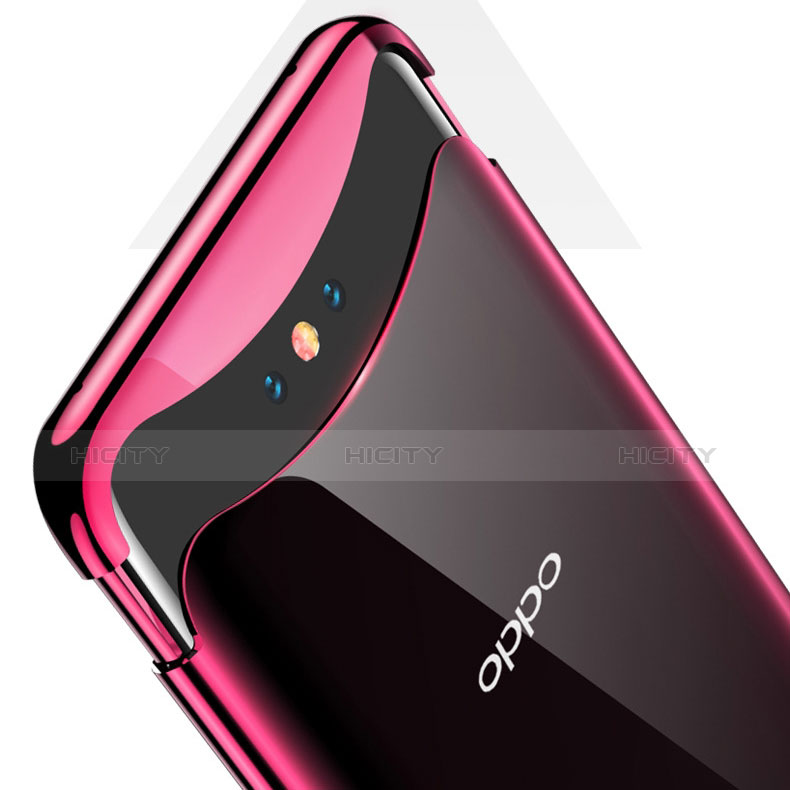 Funda Silicona Ultrafina Carcasa Transparente H04 para Oppo Find X Super Flash Edition