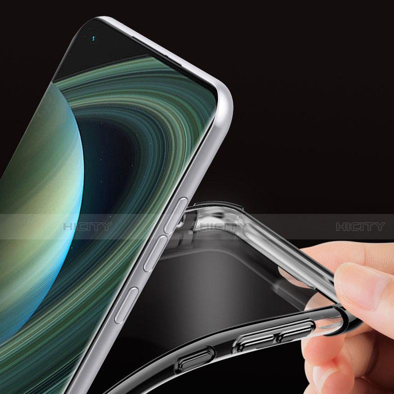 Funda Silicona Ultrafina Carcasa Transparente H04 para Xiaomi Mi 10 Ultra
