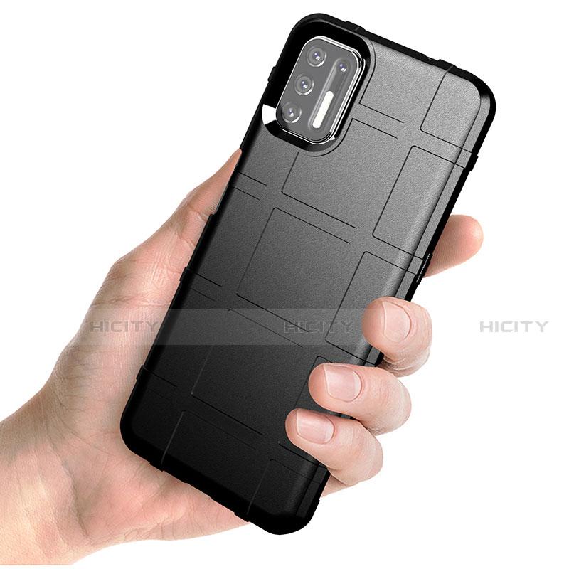 Funda Silicona Ultrafina Goma 360 Grados Carcasa para Motorola Moto G9 Plus