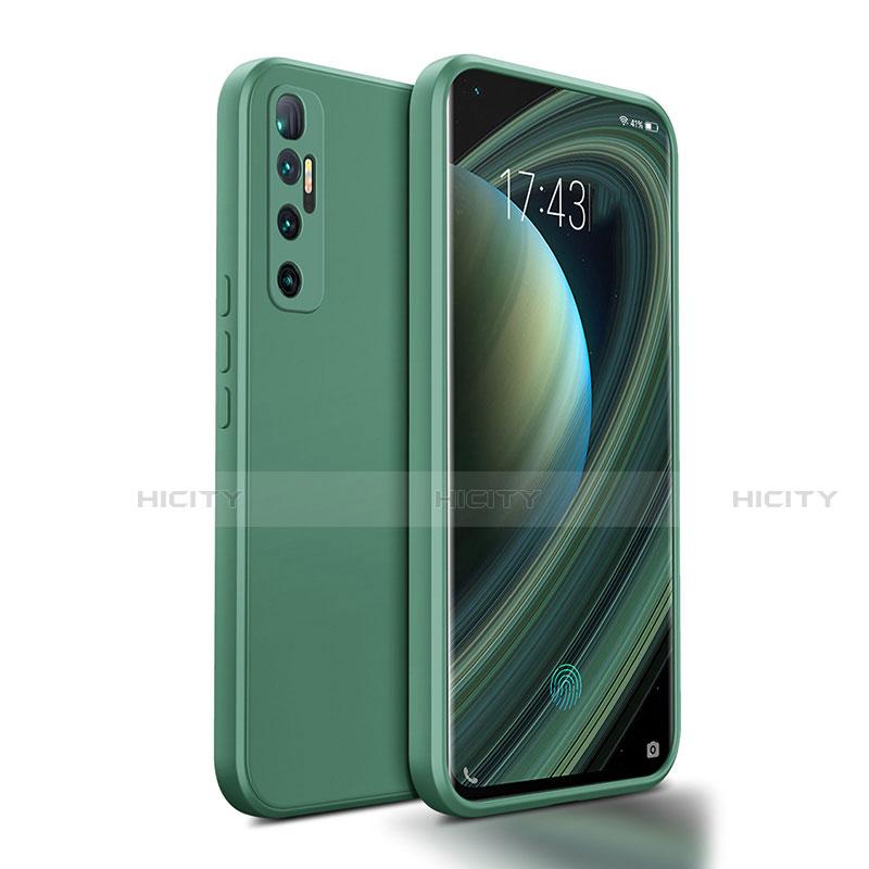 Funda Silicona Ultrafina Goma 360 Grados Carcasa S01 para Xiaomi Mi 10 Ultra Verde Noche