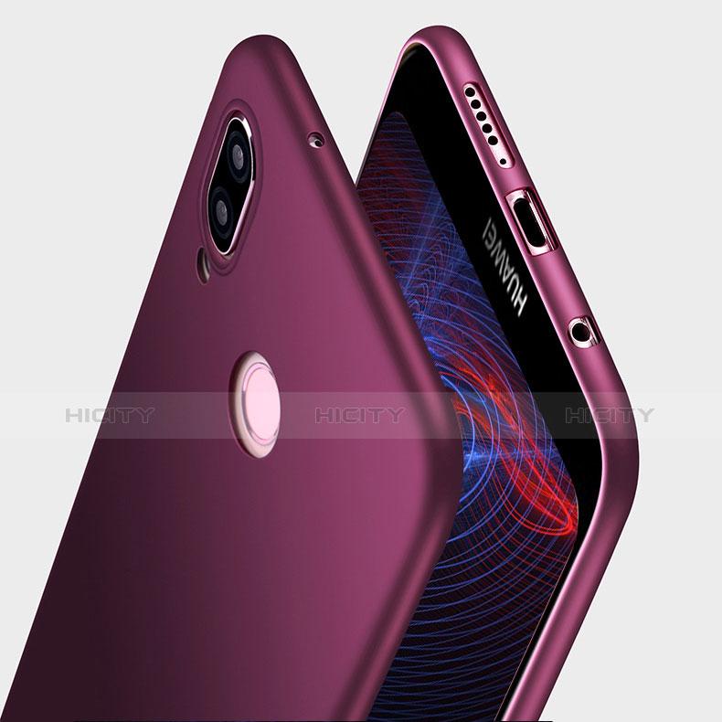 Funda Silicona Ultrafina Goma S03 para Huawei P20 Lite Morado