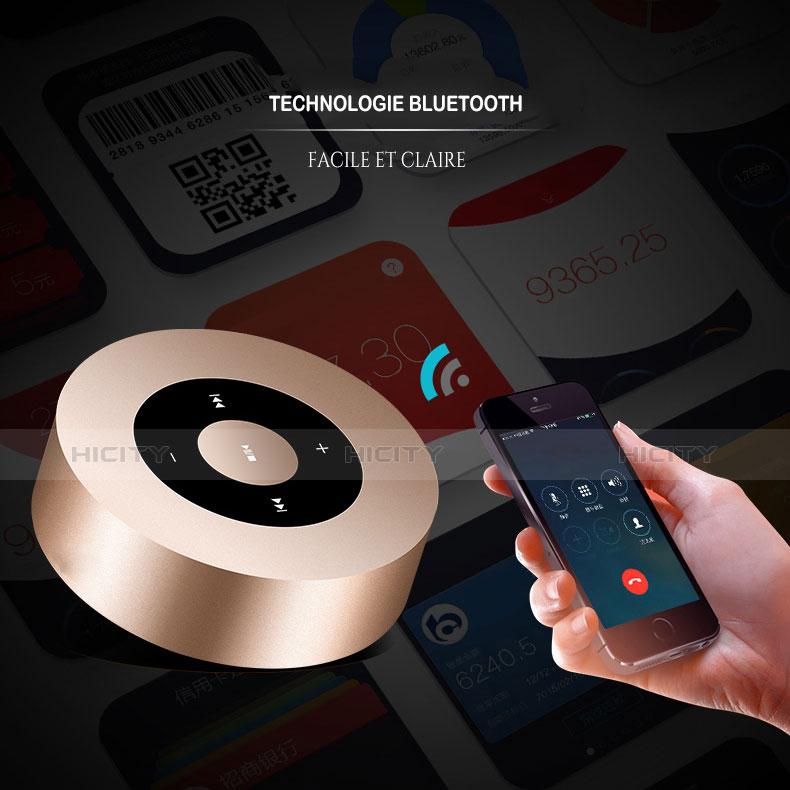 Mini Altavoz Portatil Bluetooth Inalambrico Altavoces Estereo S07 Oro