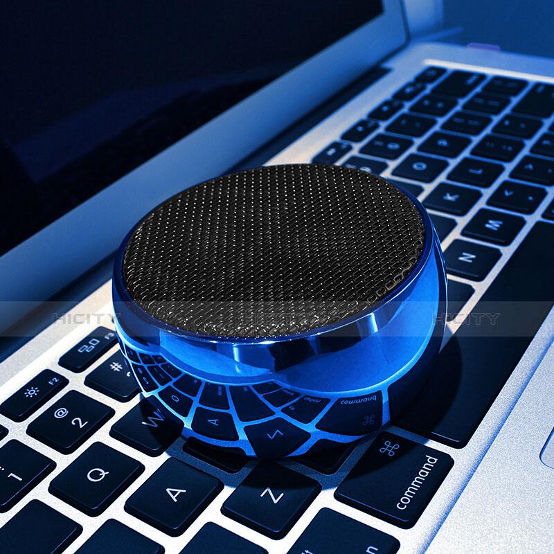 Mini Altavoz Portatil Bluetooth Inalambrico Altavoces Estereo S25 Azul