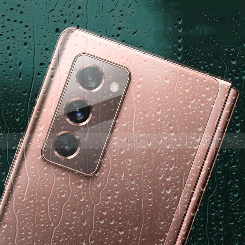 Protector de la Camara Cristal Templado para Samsung Galaxy Z Fold2 5G Claro