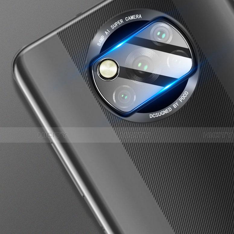 Protector de la Camara Cristal Templado para Xiaomi Poco X3 NFC Claro