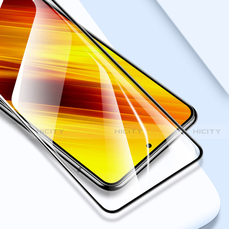 Protector de Pantalla Cristal Templado Integral para Xiaomi Poco X3 NFC Negro