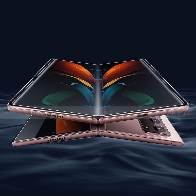 Protector de Pantalla Ultra Clear Frontal y Trasera F01 para Samsung Galaxy Z Fold2 5G Claro
