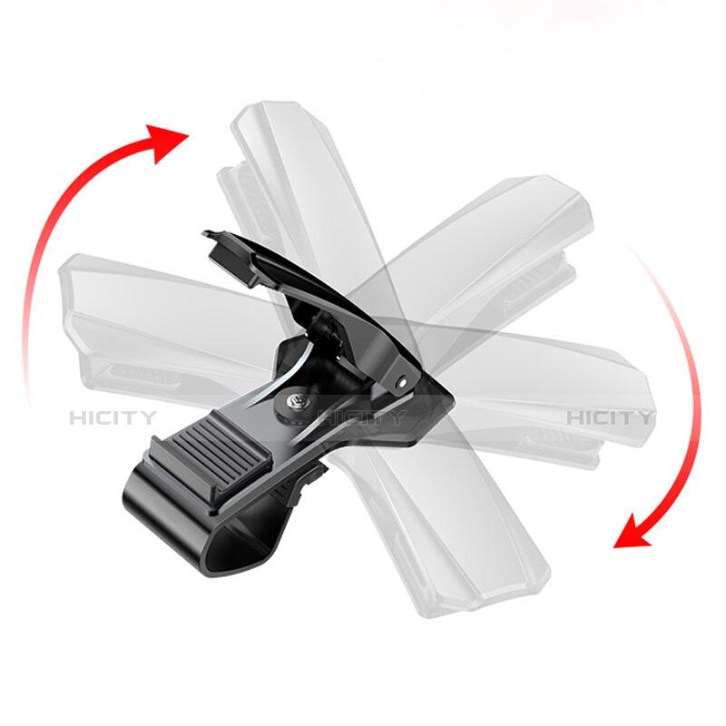 Soporte Universal de Coche Tablero Salpicadero Clip T03 Negro