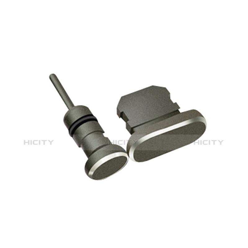 Tapon Antipolvo Lightning USB Jack J01 para Apple iPhone 11 Pro Negro